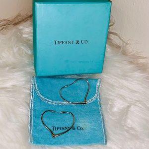 TIFFANY & CO HEART EARRINGS